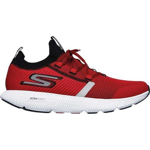 Shop Skechers Men's GOrun Horizon Running Shoe RedBlack