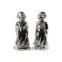 Urban Trends Collection 46860-AST Ceramic Standing Monk Figurine