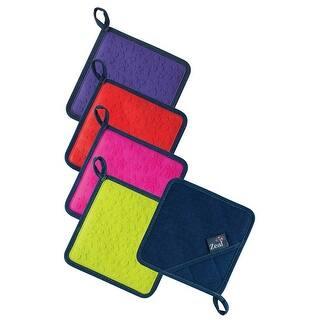 Leafy Potholder Pocket Mitt Set Of 2 Free Shipping On