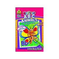 School Zone LBB My First ABC Animals Coloring Bk