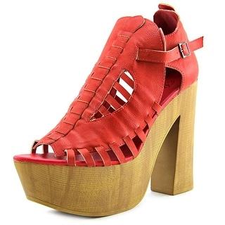 Penny Loves Kenny Merlin Open Toe Synthetic Platform Sandal