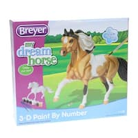 Breyer 1:12 Classics Paint-By-Number Horse: Pinto - multi