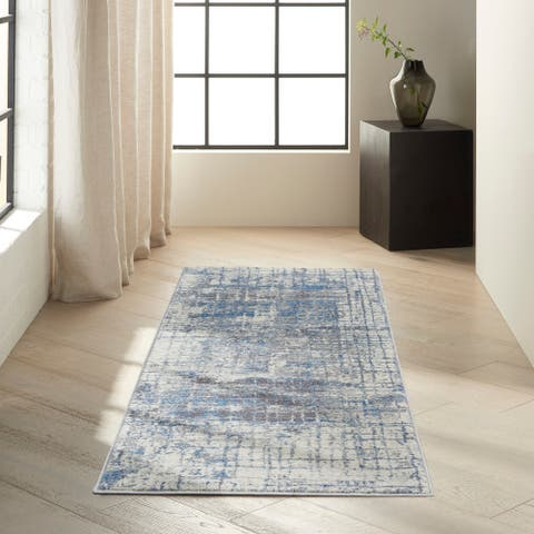 Calvin Klein Torrent Abstract Area Rug