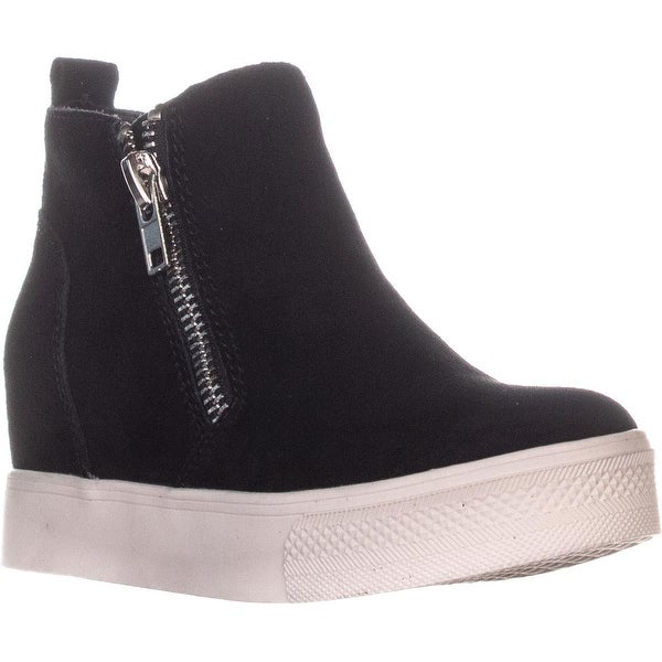 431e9098366 Shop Steve Madden Wedgie High Top Hidden Wedge Fashion Sneakers ...