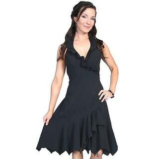 Scully Western Dress Womens Cantina Halter Top Dress PSL-054