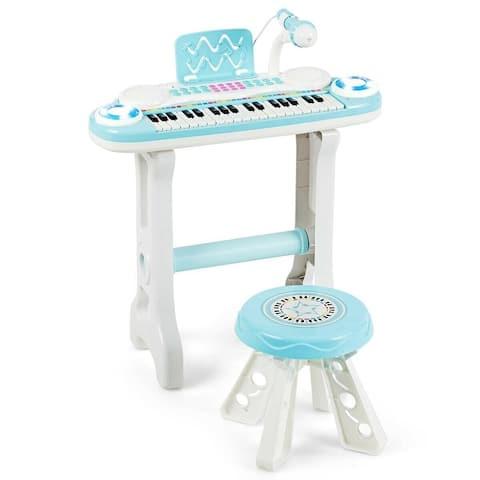 37-key Kids Electronic Piano Keyboard Playset