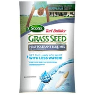 Scotts 18296 Turf Builder Heat Tolerant Blue Grass Seed, 3 lbs