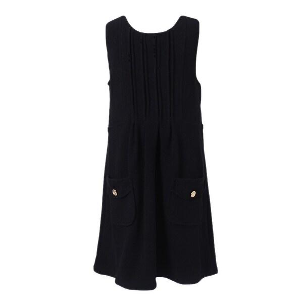b9e00f8e60b Shop Richie House Girls  Black Elegant Sundress - On Sale - Free ...