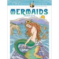 Dover Publications-Creative Haven: Mermaids