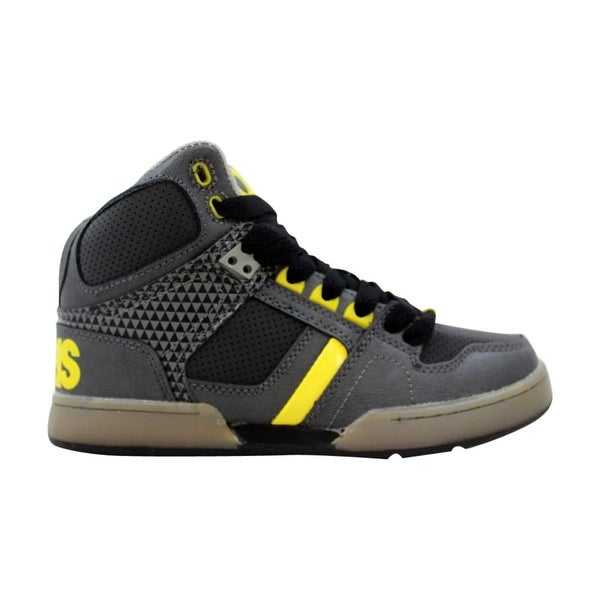056a480eb6f Shop Osiris NYC 83 Vulc Charcoal Yellow 31302106 Pre-School - Free ...