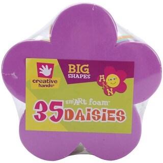 Foam Shapes 35/Pkg-Daisies