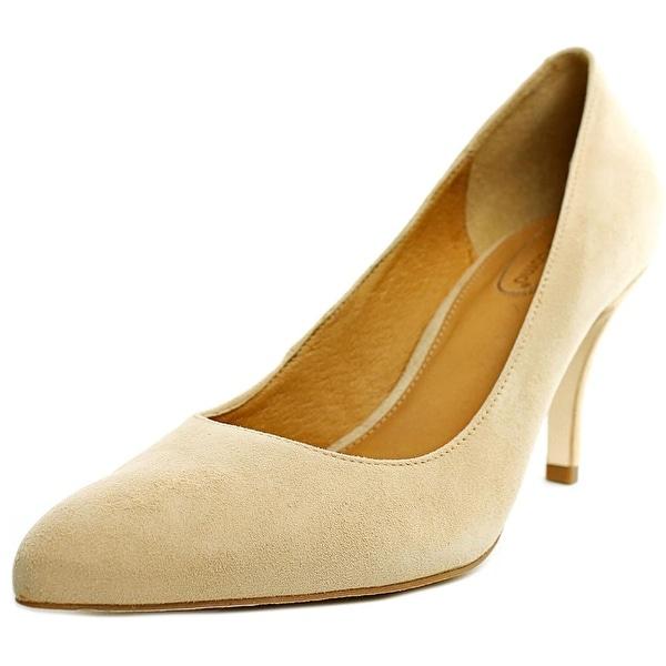 Corso Como Corrina Women Pointed Toe Suede Nude Heels