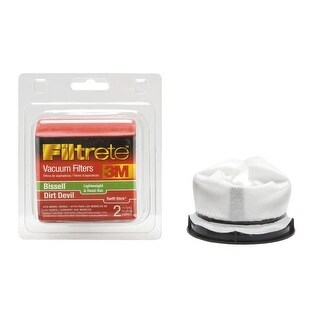 Filtrete 66829-4 Bissell Lightweight Filter, 1 Pack