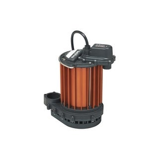 Liberty Pumps 230 1/3 HP Aluminum Submersible Sump Pump (Non-Automatic)
