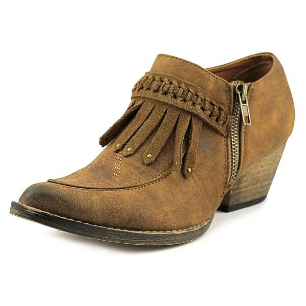Very Volatile Finlandia Tan Boots