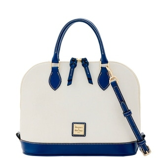 Dooney & Bourke Zip Zip Satchel (Introduced by Dooney & Bourke at $228 in Dec 2016) - Royal Blue