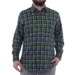 Robert Graham Colloid Long Sleeve Collared Neck Casual Button Down Men