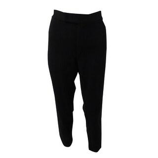 Lauren Ralph Lauren Women's Ponte-Knit Skinny Pants - Black