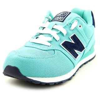 New Balance KL574 Round Toe Synthetic Running Shoe