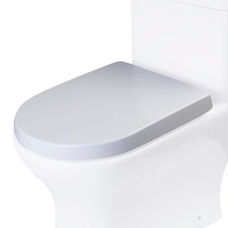 Eago R-353SEAT Replacement Elongated Toilet Seat for TB353 - White - N/A