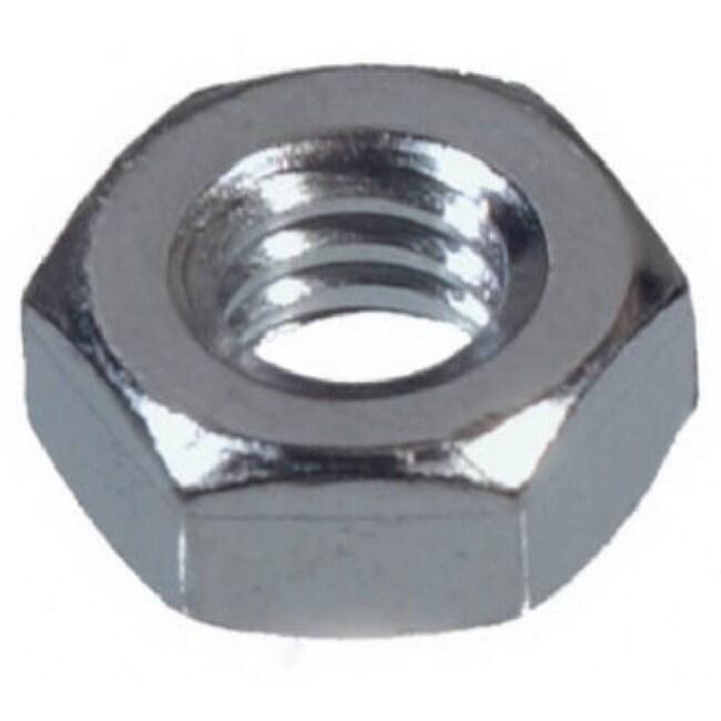 Hillman 140021 Machine Screw, Nut Hex 10-24, 100 Pack