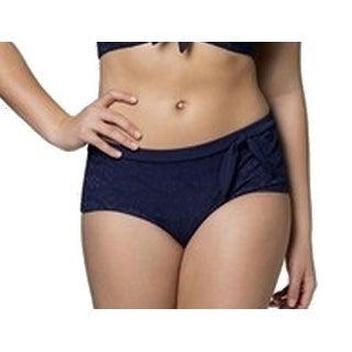 Christin Michaels NEW Blue Women's Size 2XL Plus Bikini Bottom