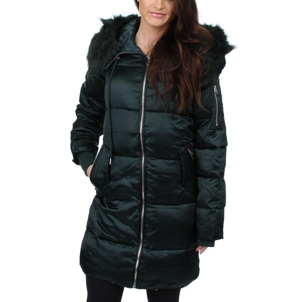 Jessica Simpson Womens Puffer Coat Winter Water Resistant
