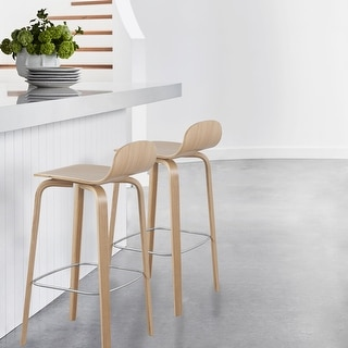 Link to Glen Contract Grade Modern Wooden Bar Stool Similar Items in Dining Room & Bar Furniture