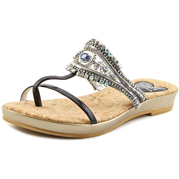 Love and Liberty Cleopatra Women Open Toe Synthetic Slides Sandal