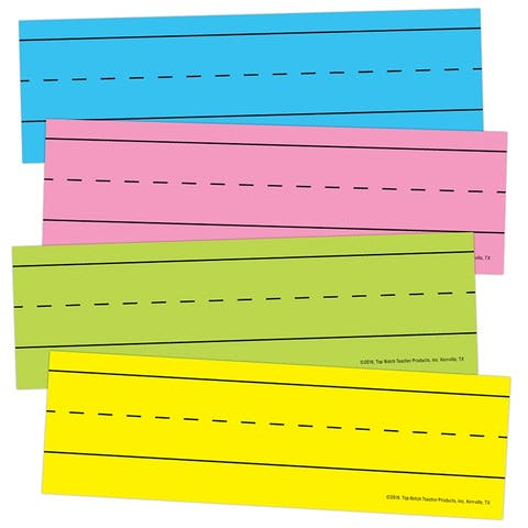 Tnt magnetic word strips bright asrtd 10457