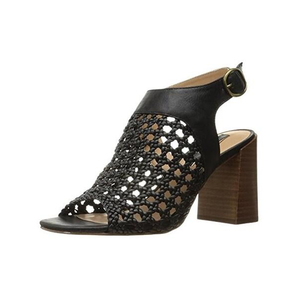 Kensie Womens Sandria Heels Caged Open Toe
