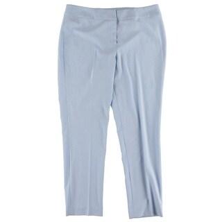 Nine West Womens Skinny Pants Flat Front Comfort Waist