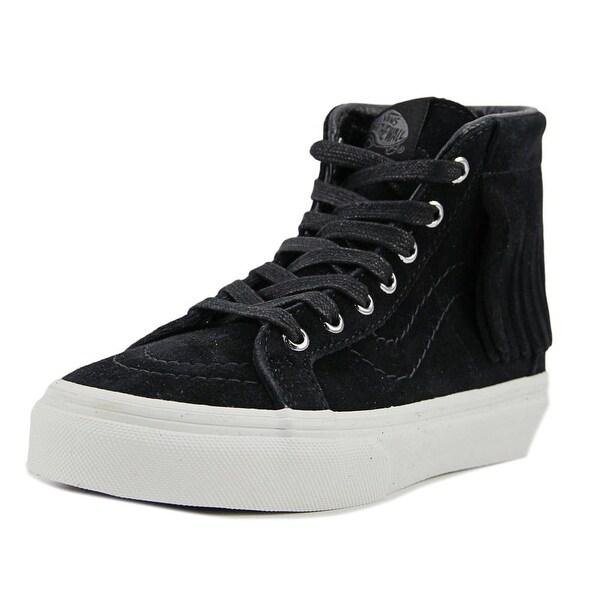 Vans SK8 Hi Moc Women Round Toe Suede Sneakers