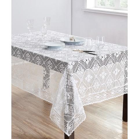 Delicate Crochet Tablecloth