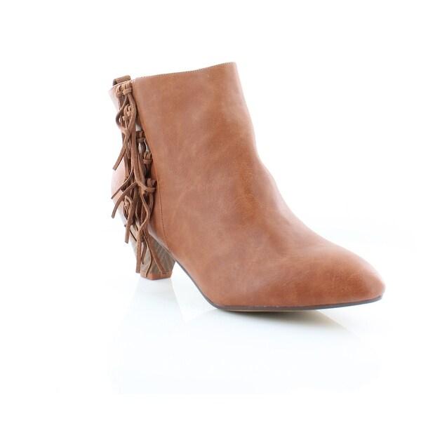 Thalia Sodi Lorys Women's Boots Cognac