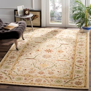 Safavieh Handmade Antiquity Izora Traditional Oriental Wool Rug