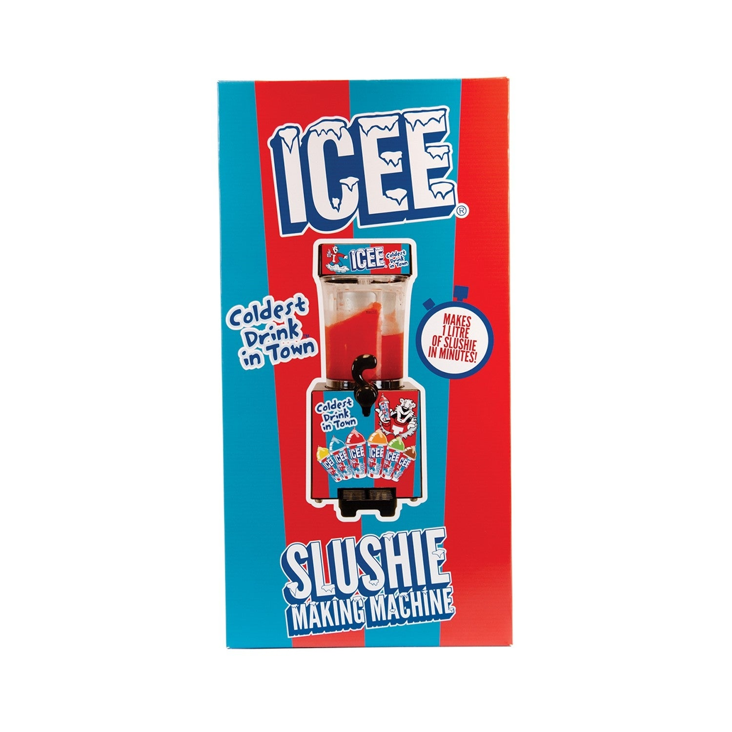 Shop I Scream Icee Machine Slushie Maker Counter Top Model Make Your Own Icee Slushies At Home Overstock 30920562