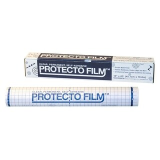 Pacon Non-Glare Protecto Film, 24 In. x 33 Ft. Plastic,