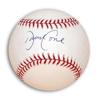 Autographed David Cone MLB Baseball