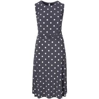 Lauren Ralph Lauren Womens Casual Dress Polka Dot Print - 22W