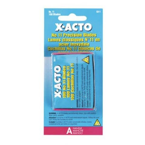 X-Acto X811 Knife Blades #11, 100/Pack