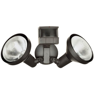 Heath Zenith HZI-5318-BZ Dualbrite Motion Sensor Light, Bronze