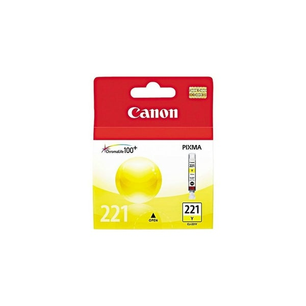 Canon CLI-221Y Ink Cartridge - Yellow CLI-221Y Ink Cartridge - Yellow