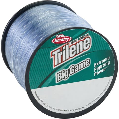 Berkley Trilene Big Game Steel Blue Fishing Line Spool - 20 lb test, 650 yds - 20 lb. test 650 yds