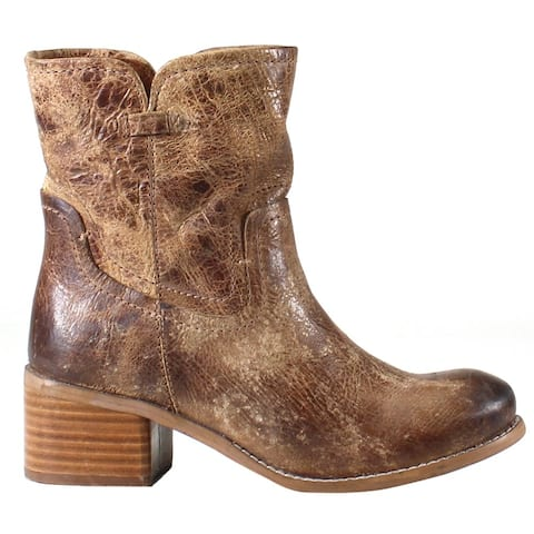 """Diba True West Haven Womens Boots Ankle High Heel 3"""" & Up - Brown"""
