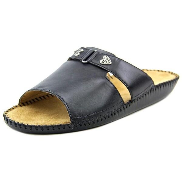 Auditions Sparkle Women N/S Open Toe Leather Slides Sandal