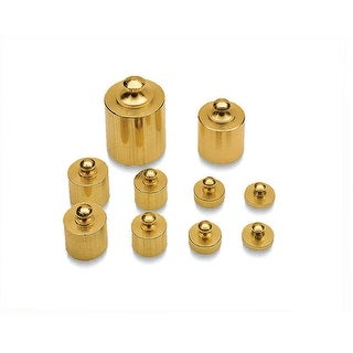 Brass Mass Set 10/Pk Precision