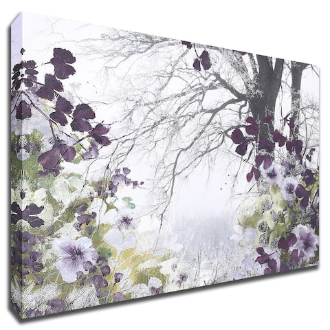 Springtime by Design Fabrikken With Hand Painted Brushstrokes, Print on Canvas