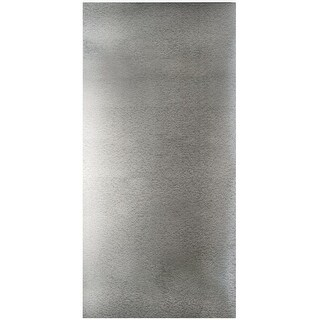 "M-D Building 57321 Magnetic Galvanized Steel Sheet, 12"" x 24"""