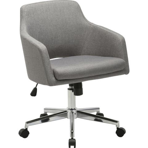 Lorell Mid-century Modern Low-back Task Chair